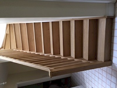 Solid oak staircase supplied and fitted in Inveraray extension